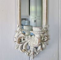 Mirror Candle Wall Sconce | Bliss and Bloom Ltd