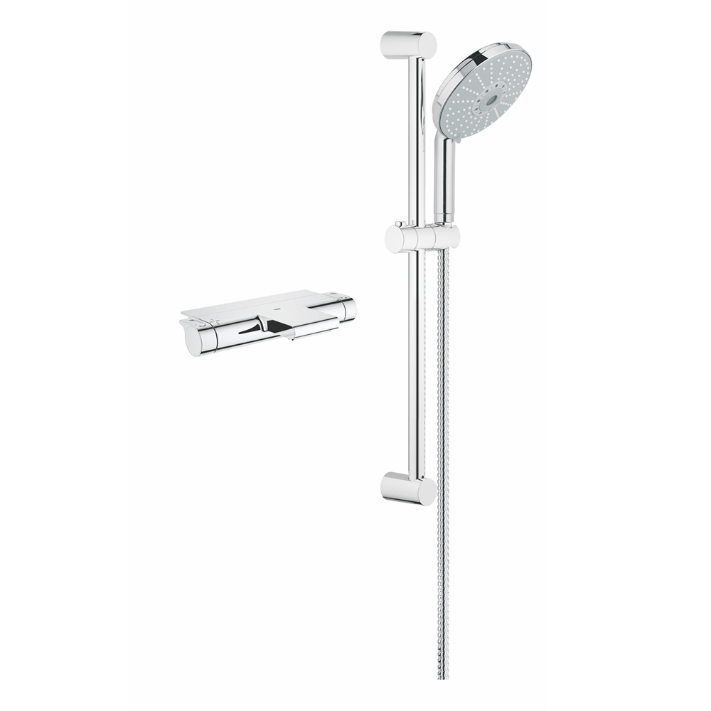 Grohe 2000 Grohe 123156 Grohtherm 2000 Dual Function Shower Kit