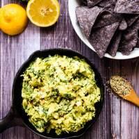 Creamy Avocado, Artichoke & Kale Dip