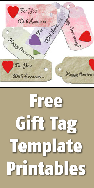 Free Gift Tag Printables Templates Blissfully Domestic