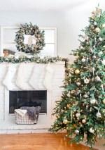 Rustic Glam Christmas Tree Decor