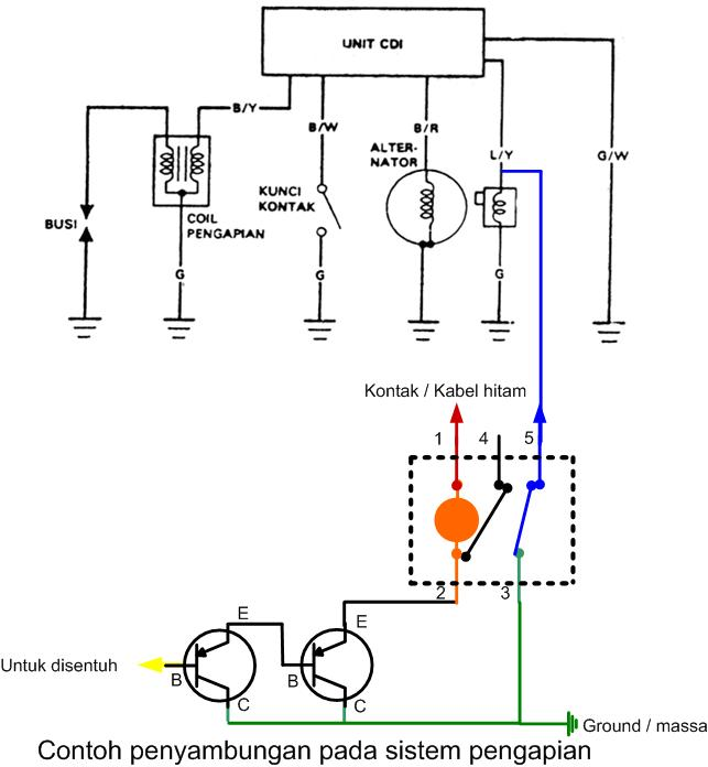 diagram relay kaki 5