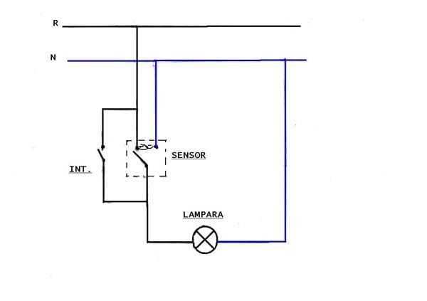 ultima diagrama de cableado de lampara