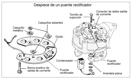 12v alternator diagrama de cableado