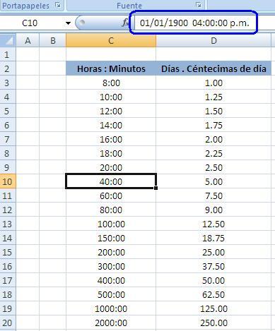 Exel, como puedo convertir horas en días - Microsoft Excel