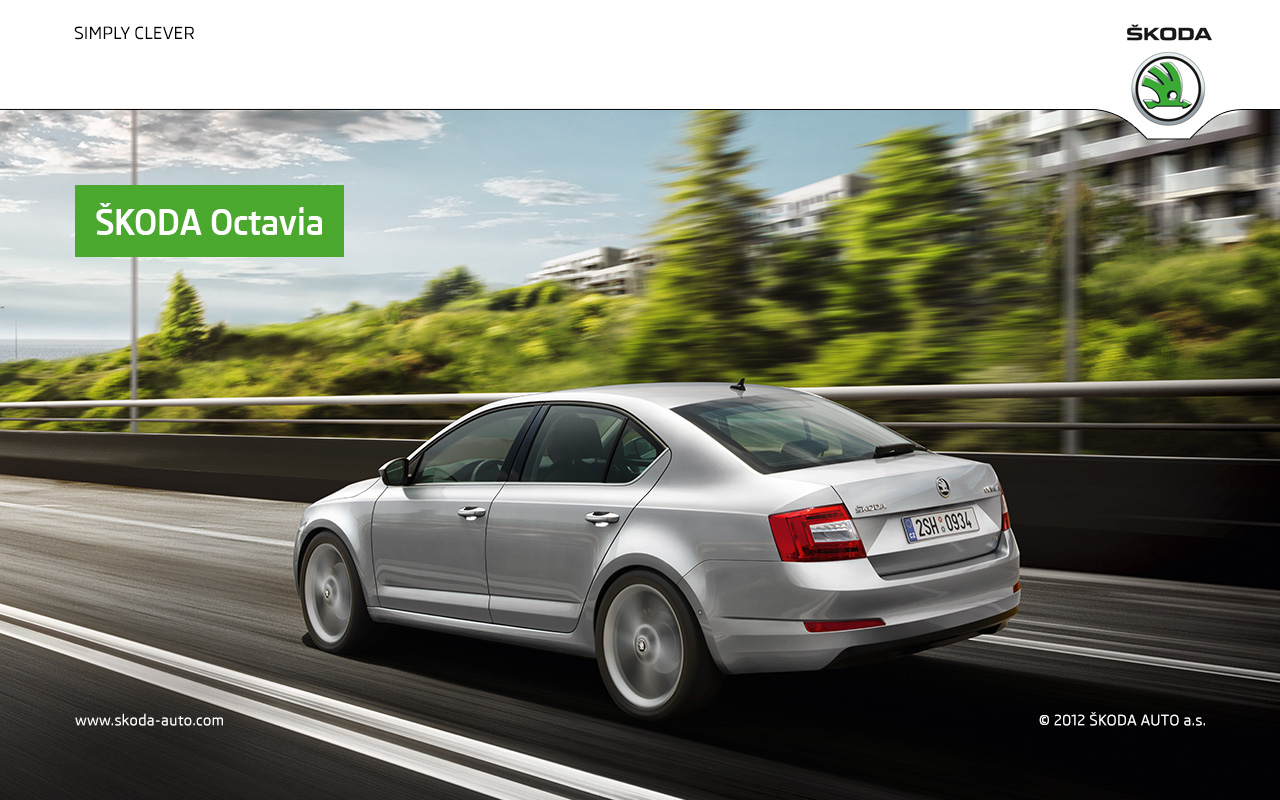 Skoda Octavia Greenline 3 The New Škoda Octavia Wallpapers Škoda