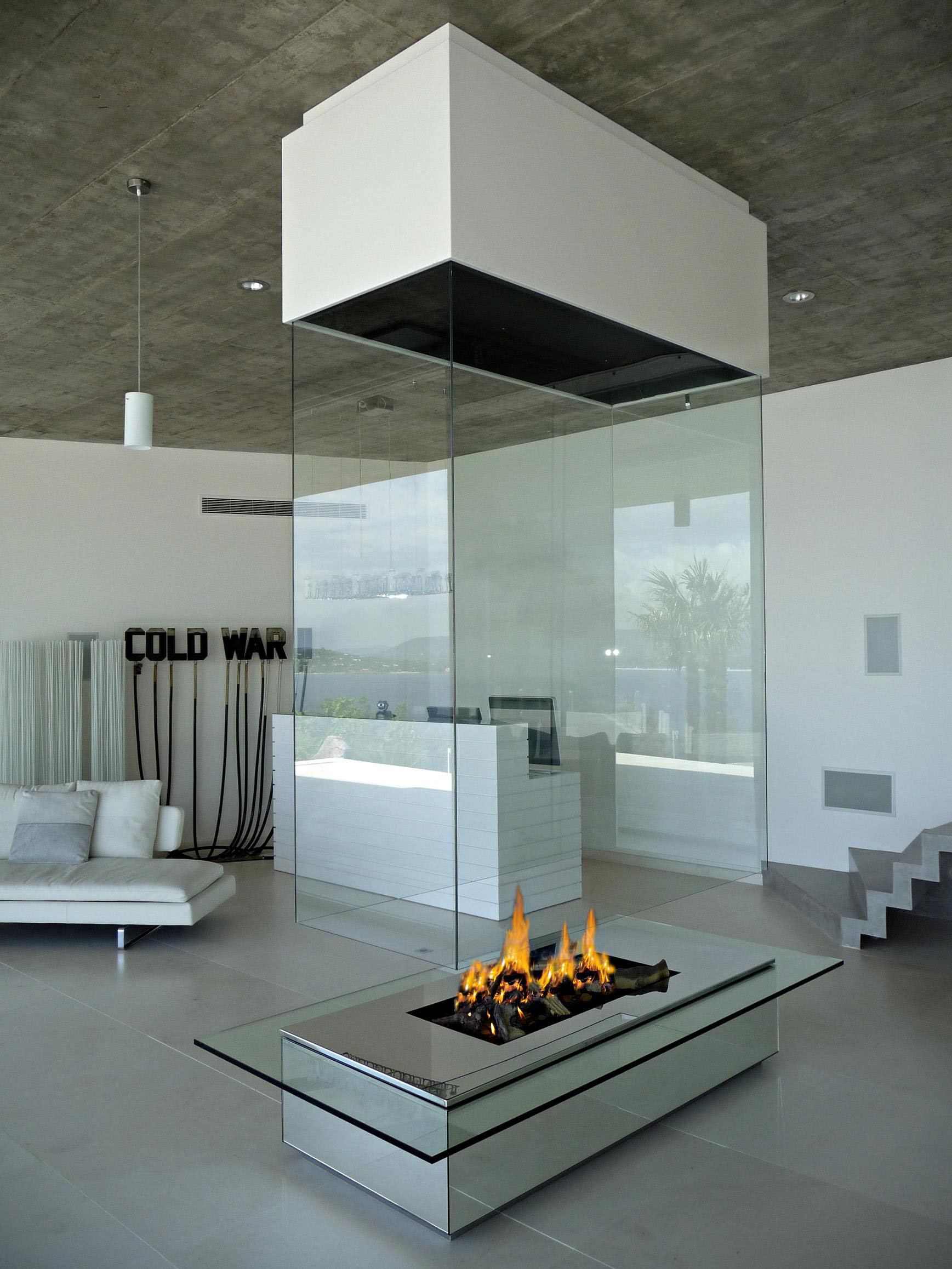 Modern Fireplaces Contemporary Fireplace Custom Fireplace Modern Luxury