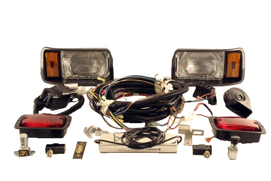 Light Kit Deluxe For Club Car Electric 1993-Up (48-Volt) DS Cars