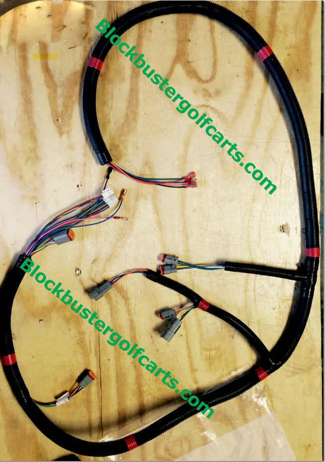 Wire Harness Complete Club Car Model DS IQ Systems 2000  Up