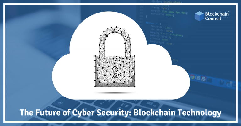 In Cyber Security The Future Of Cyber Security Blockchain Technology Blockchain