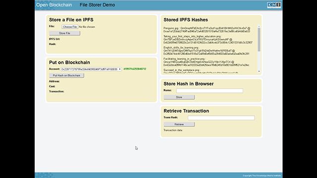 File Storer Demo
