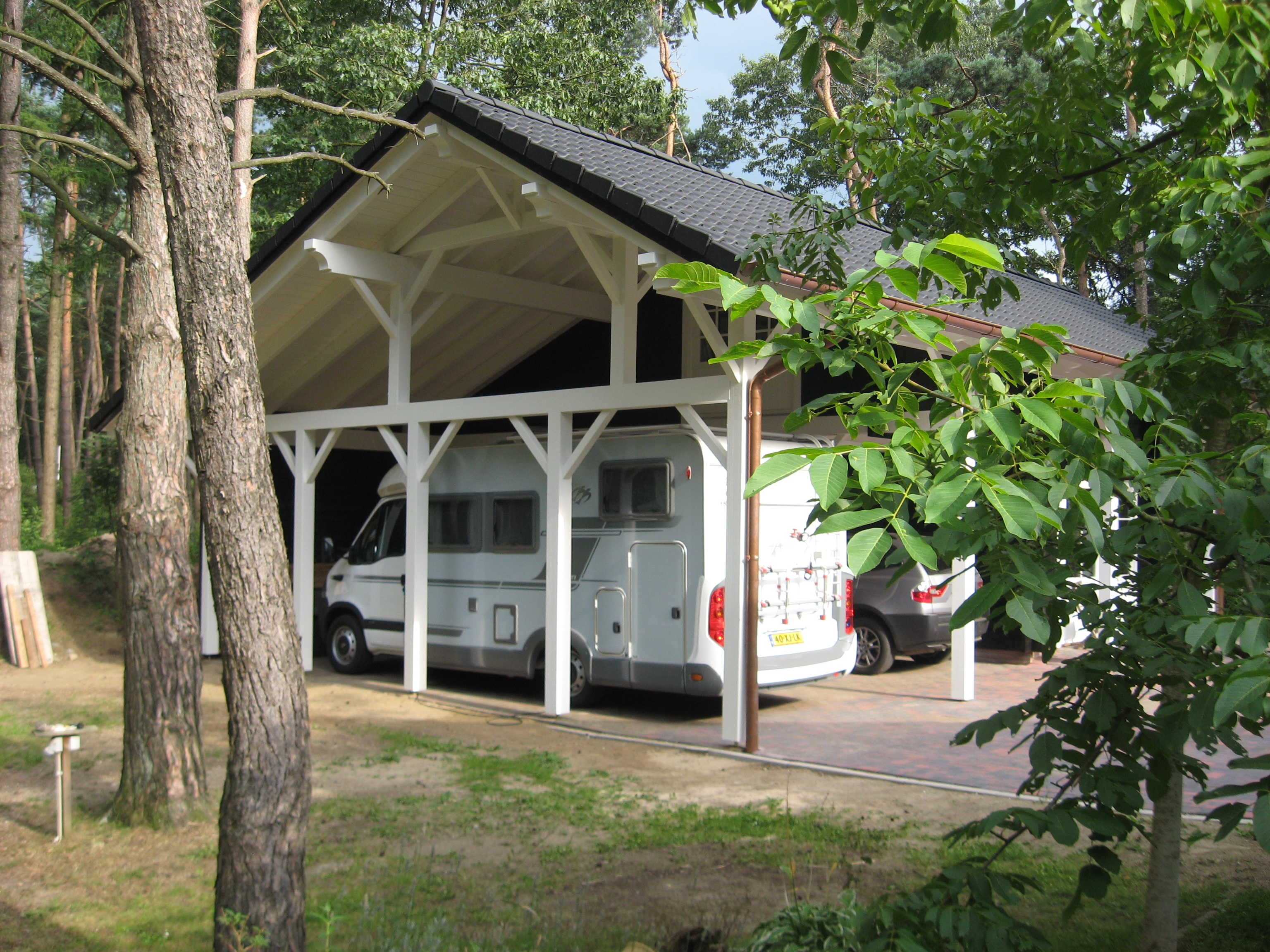 Nordisches Design Carport Bilder