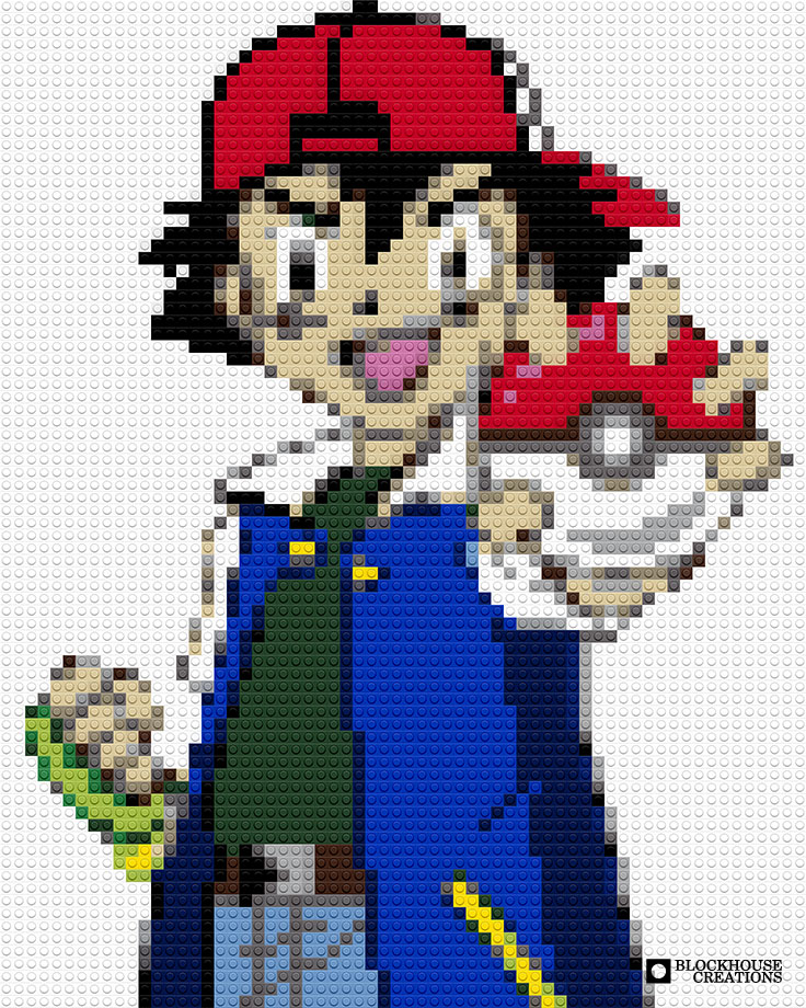 100 Days of Mosaics – Day 9 – Catch 'Em All