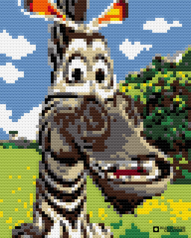 100 Days of Mosaics – Day 17 – Marty