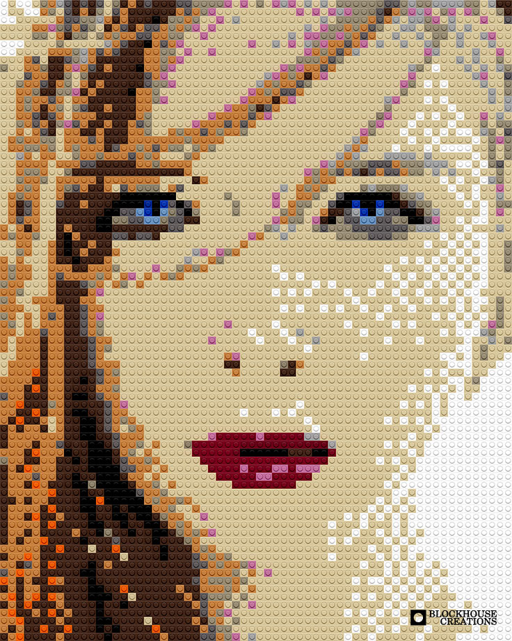 100 Days of Mosaics – Day 21 – Molly