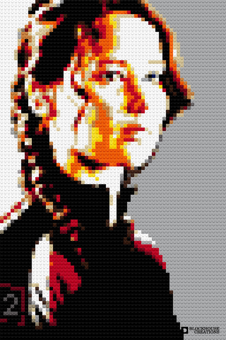 100 Days of Mosaics – Day 35 – Jennifer Lawrence