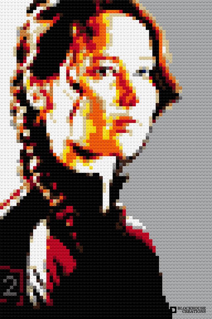 100 Days of Mosaics – Day 35 – Jennifer Lawrence