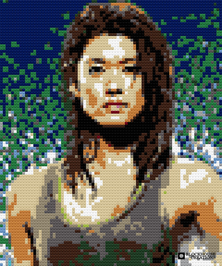 100 Days of Mosaics – Day 58 – Grace Park