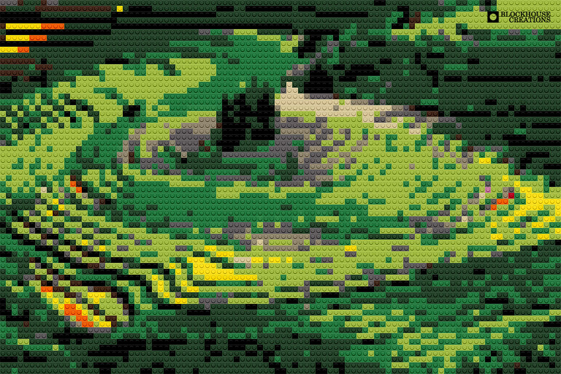 100 Days of Mosaics – Day 65 – Rice Terraces