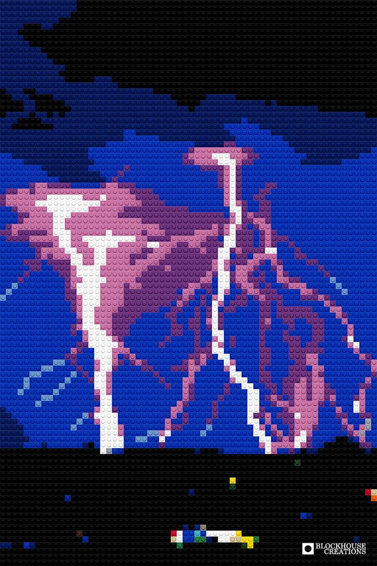 100 Days of Mosaics – Day 67 – Lightning Storm