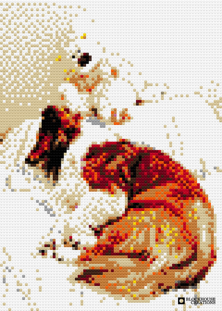 100 Days of Mosaics – Day 85 – Volunteer 15, Leo