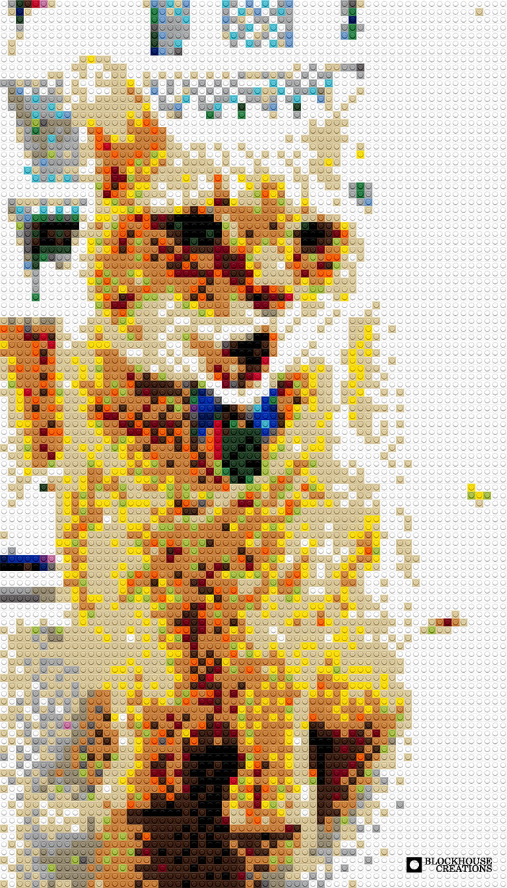 100 Days of Mosaics – Day 87 – Volunteer 17, Goldie