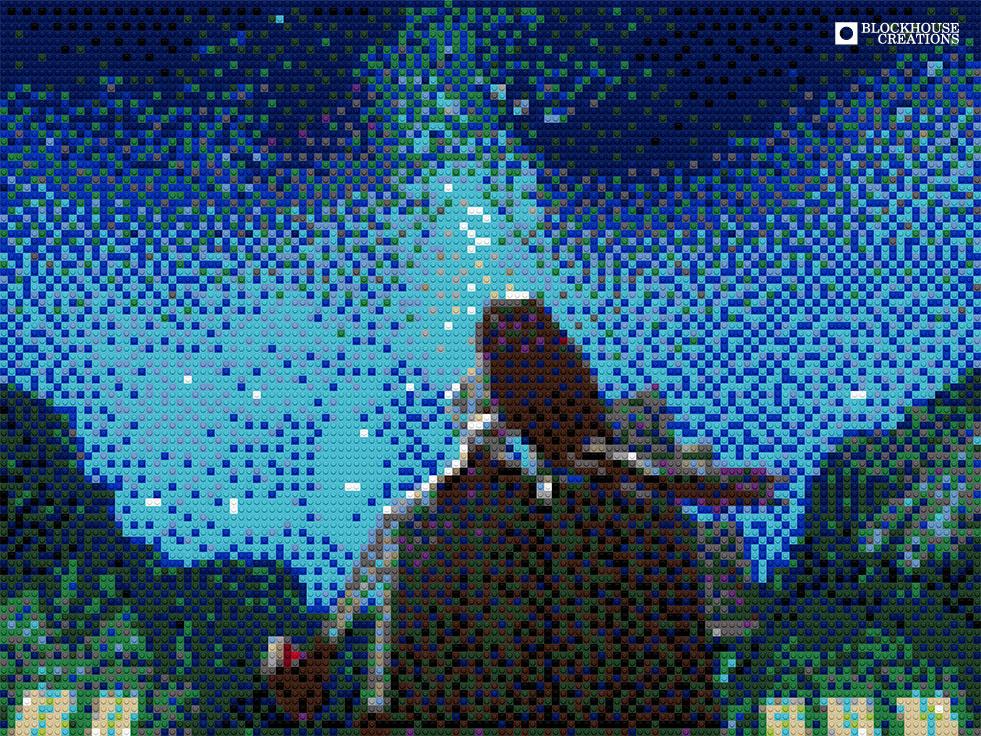 100 Days of Mosaics – Day 91 – Stargazer