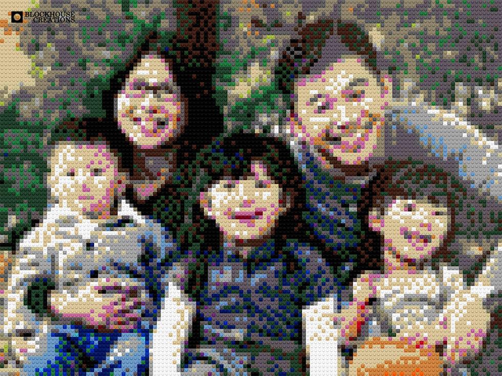 100 Days of Mosaics – Day 93 – Volunteer 19, Family Portrait