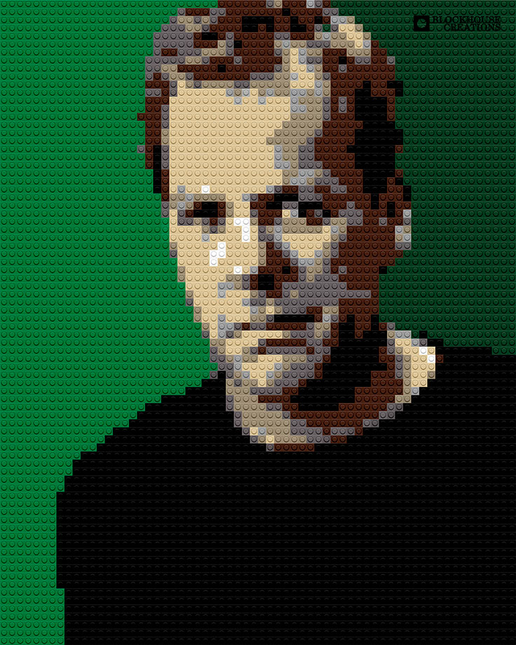 100 Days of Mosaics – Day 94 – Kiefer Sutherland