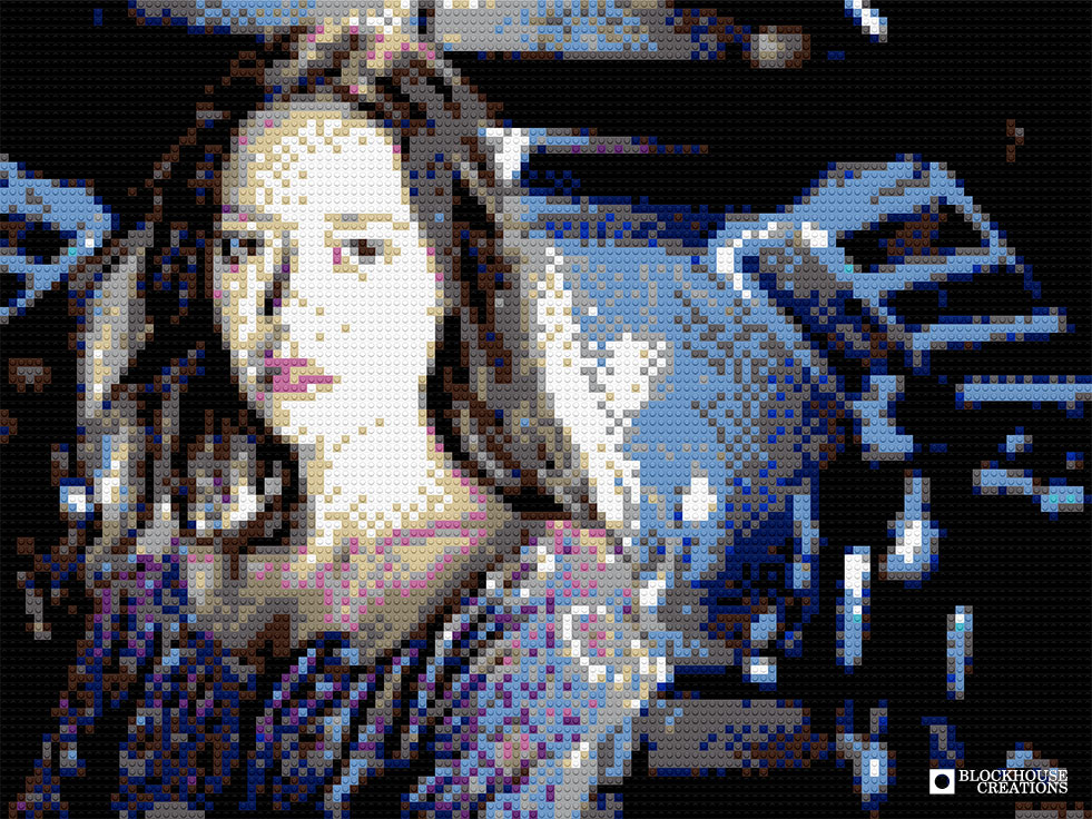 100 Days of Mosaics – Day 97 – Summer Glau