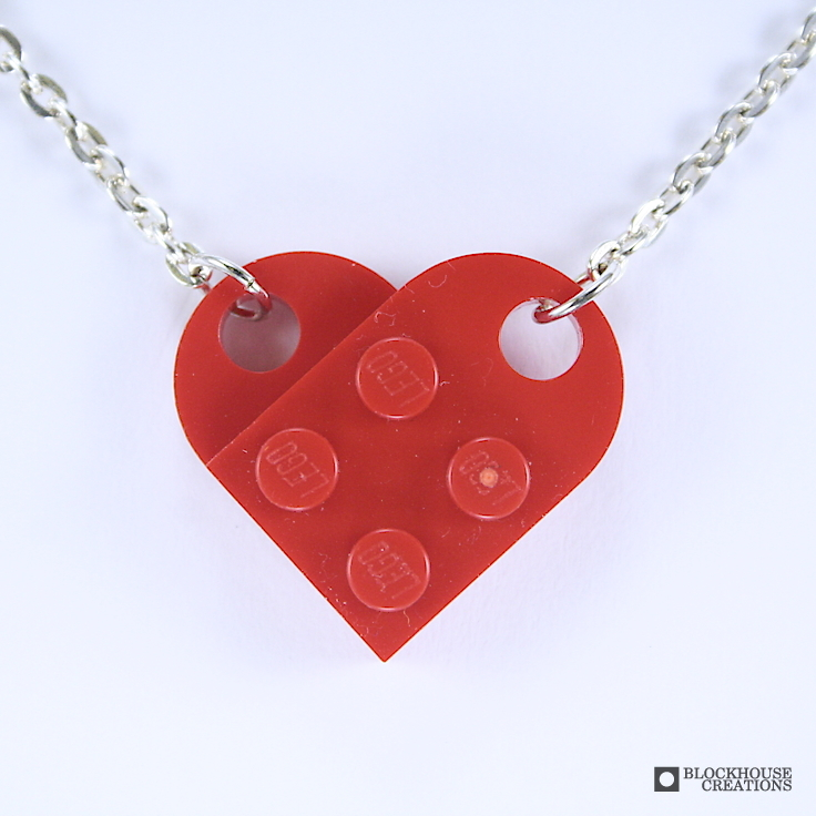 One Heart Clasp Necklace