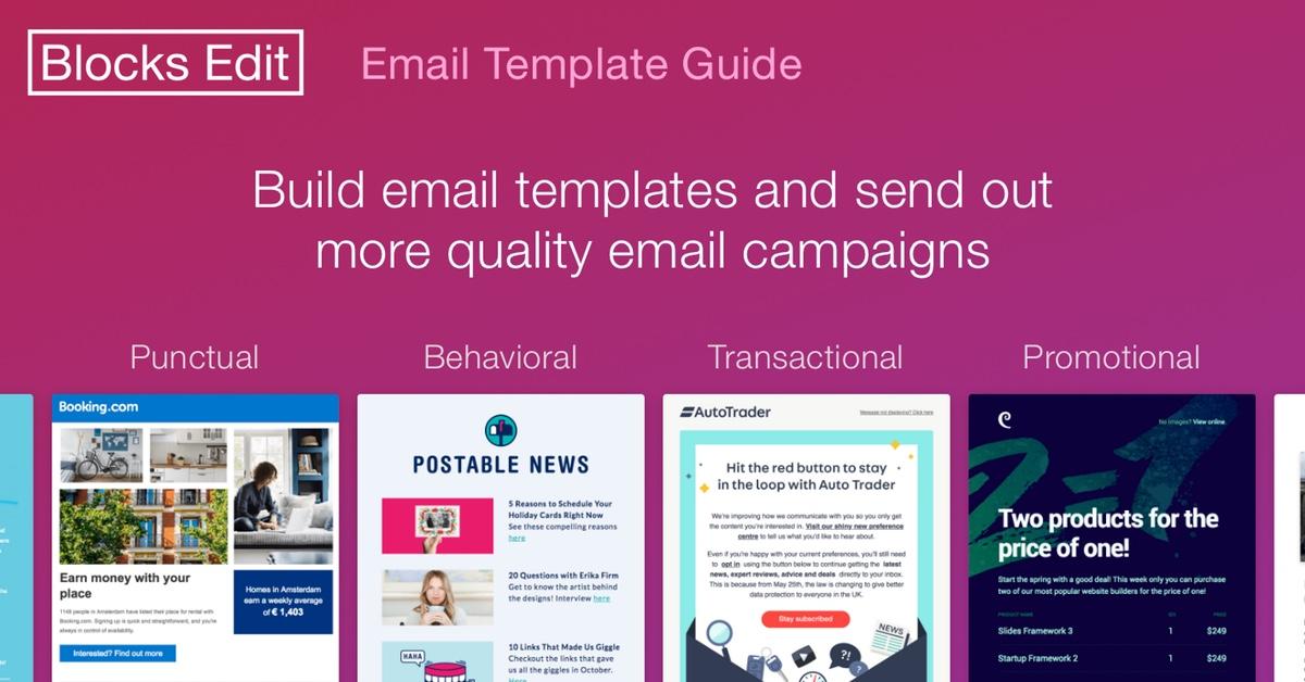 Email Template Guide - Blocks Edit