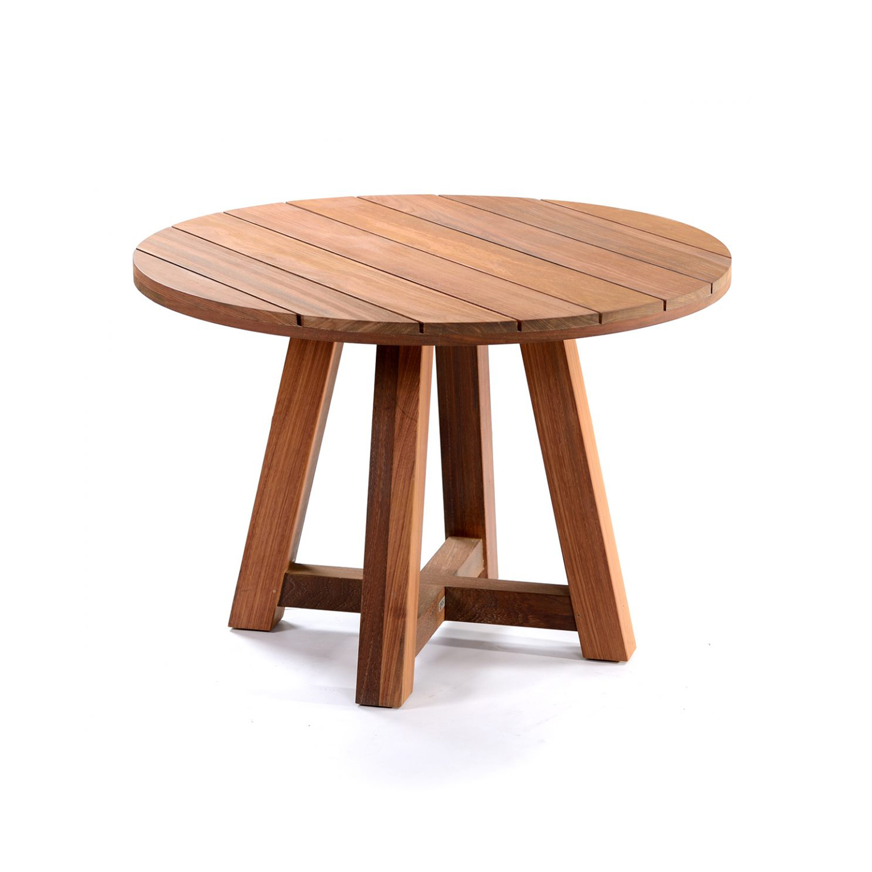 Outdoor Timber Table Mallorca Round Timber Table Bloc Outdoor
