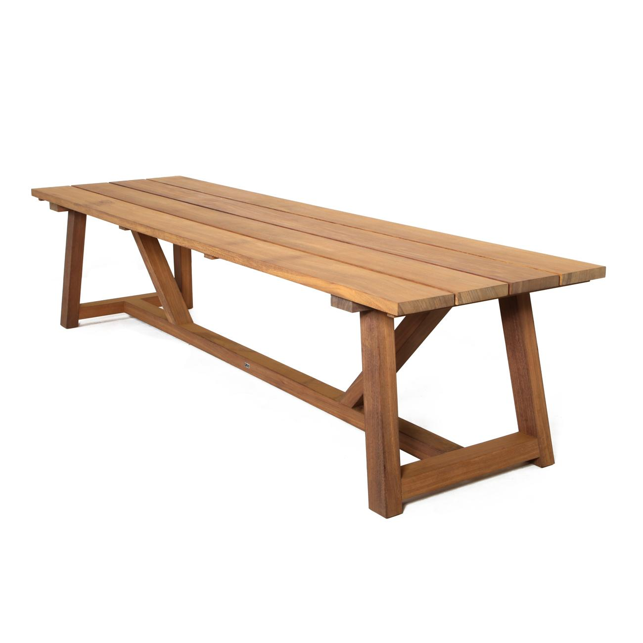 Outdoor Timber Table Mallorca Timber Table Bloc Outdoor