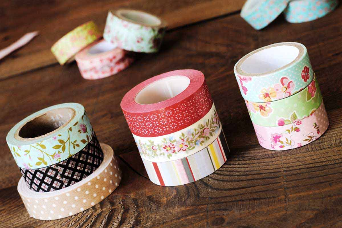 Washi Tape Diy Washi Tape Frames Your Easy 5 Minutes Diy Tutorial