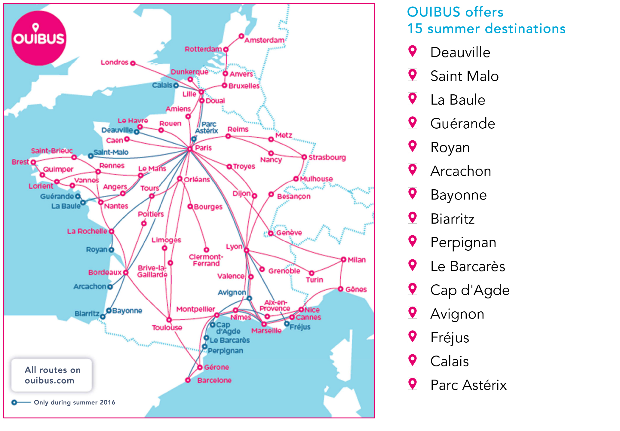 Bus Clermont Ferrand Bordeaux Ouibus 7 Bus Prices Are Back For The Summer Busbud Blog