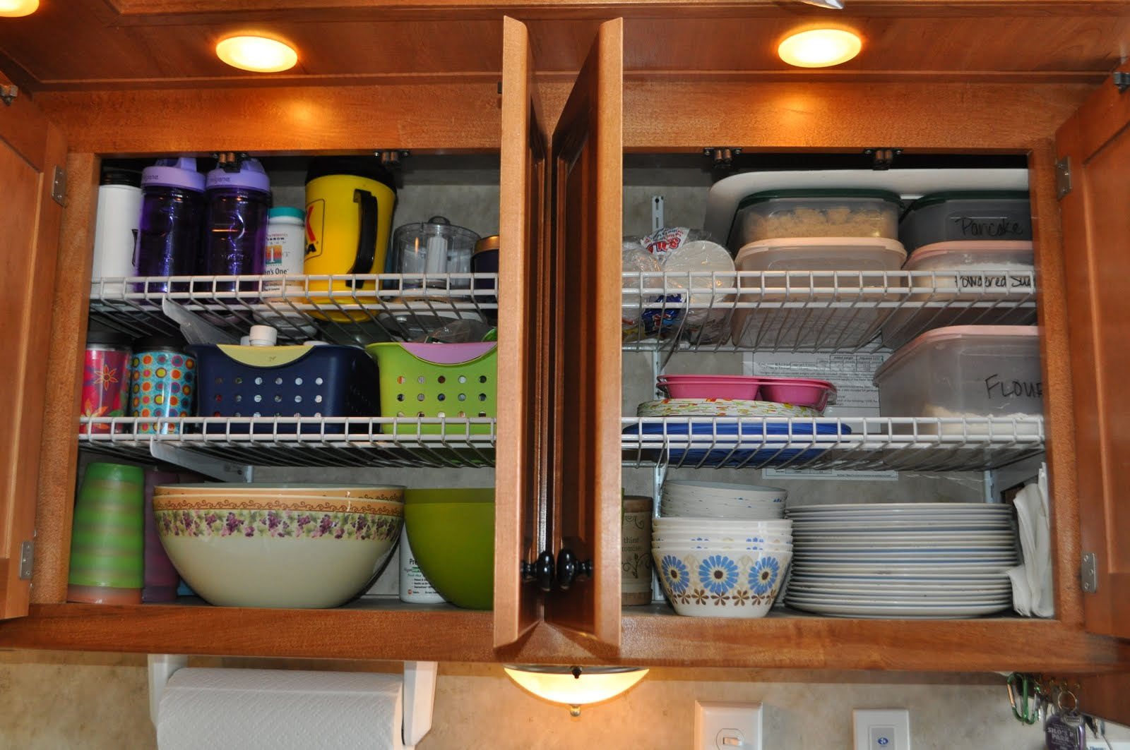 Cupboard Storage Ideas 24 Easy Rv Organization Tips Rvshare