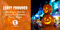 Least Crowded Mickey's Not-So-Scary Halloween Party of ...