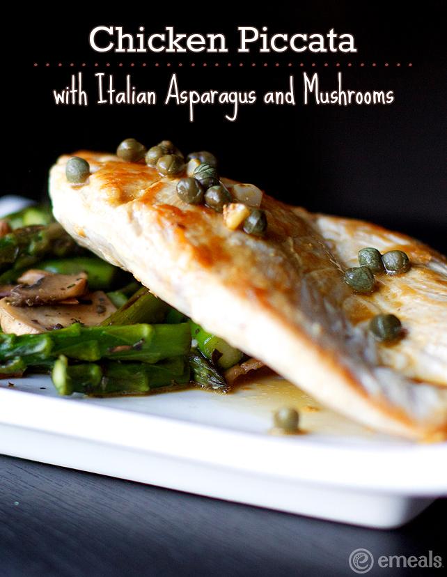 Paleo Chicken, Asparagus, and Mushroom Skillet