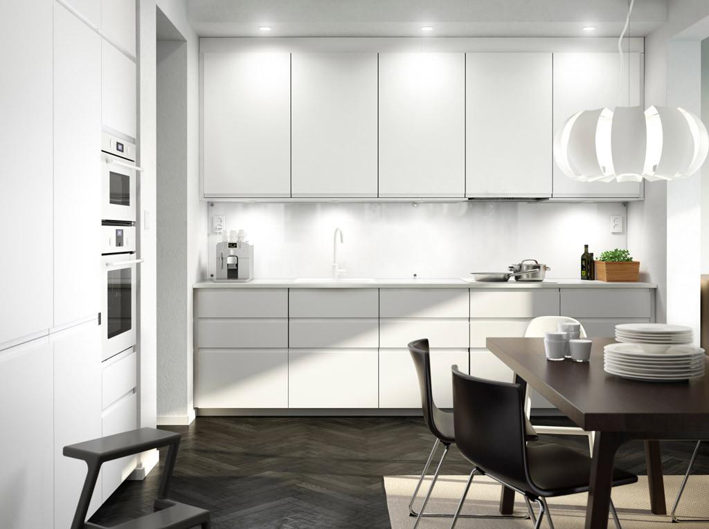 Ikea Küche Günstig. vitrine aus küchenschränken; faktum ...
