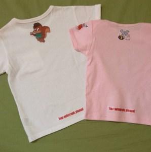 アイロンプリントTシャツ作った!