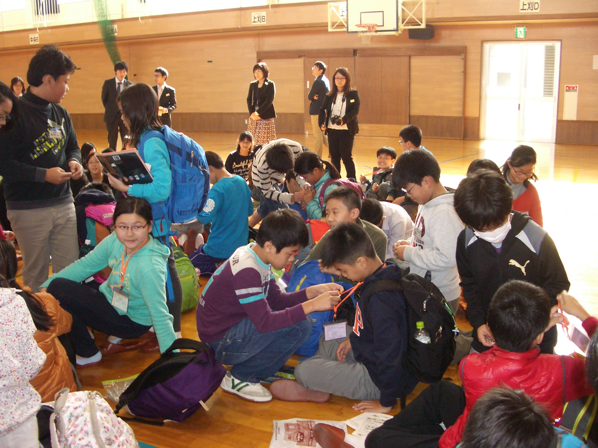 Exchange with Itoigawa Students