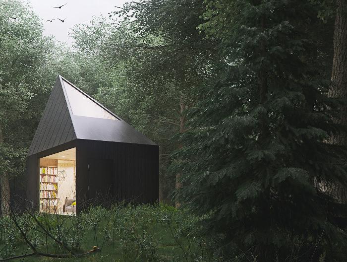 Fall Cabin The Woods Wallpaper Cabin In The Forest Par Tomek Michalski Blog Esprit Design