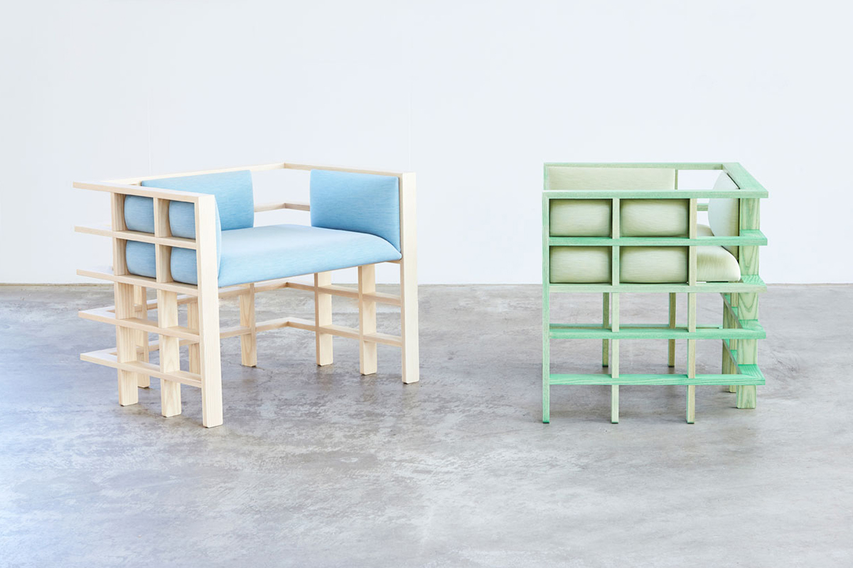 Mobiler Design Straight Lines La Collection De Mobilier De Elliot Bastianon