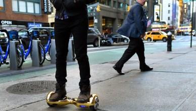 Hoverboard skate electrique