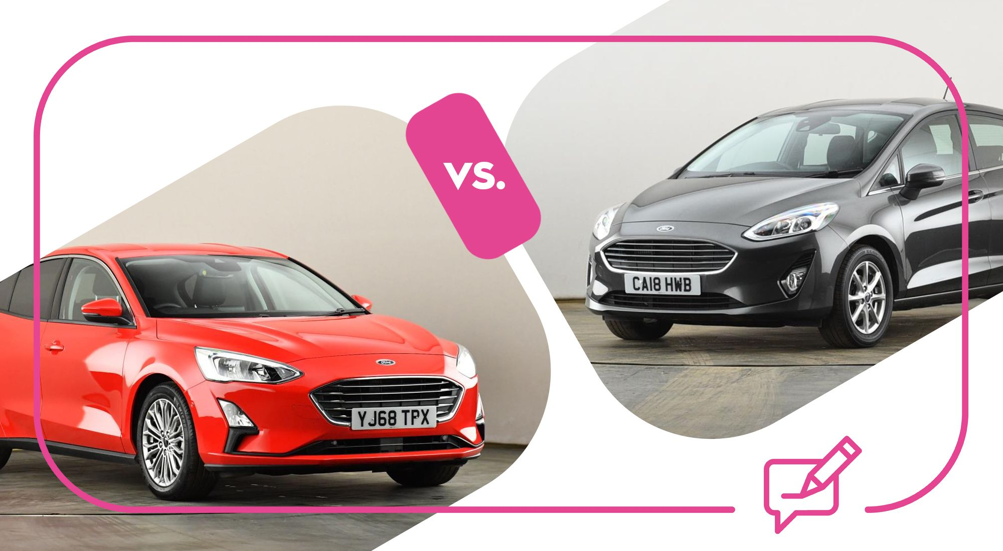 / Vs Ford Focus Vs Ford Fiesta