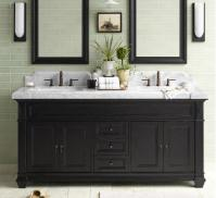 Black And White Bathroom Vanities - A Contemporary Twist ...