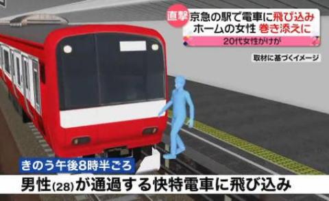 京急線 雑色駅 東京 大田区 巻き込み