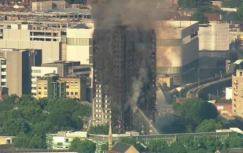 ロンドン 高層アパート グレンフェルタワー 火災 タワーマンション