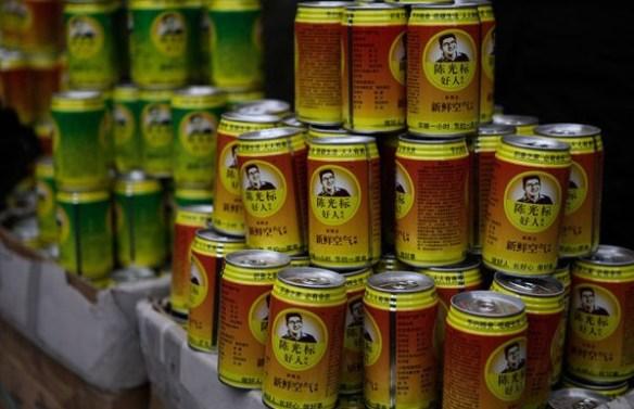 【大気汚染】中国の慈善活動家が「新鮮な空気の詰まった缶(1缶74円)」を売り始める